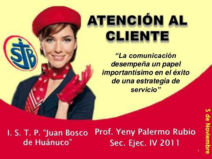 """""""La comunicación                          desempeña un papel                        importantísimo en el éxito            ..."""