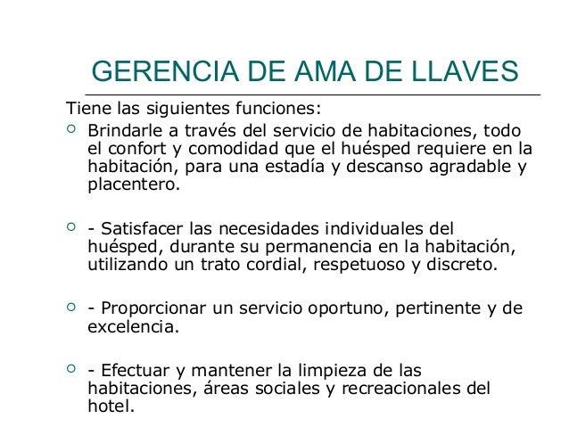 Servicio de habitacion y recepcion for Descripcion de habitaciones de un hotel