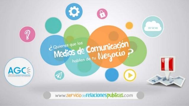¿Quieres que los medios de comunicación hablen de tu negocio? www.servicioderelacionespublicas.com
