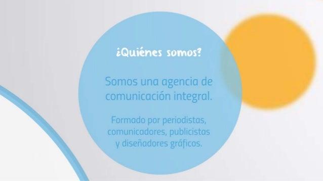 Servicio de relaciones publicas - AGC  Comunicaciones Slide 3