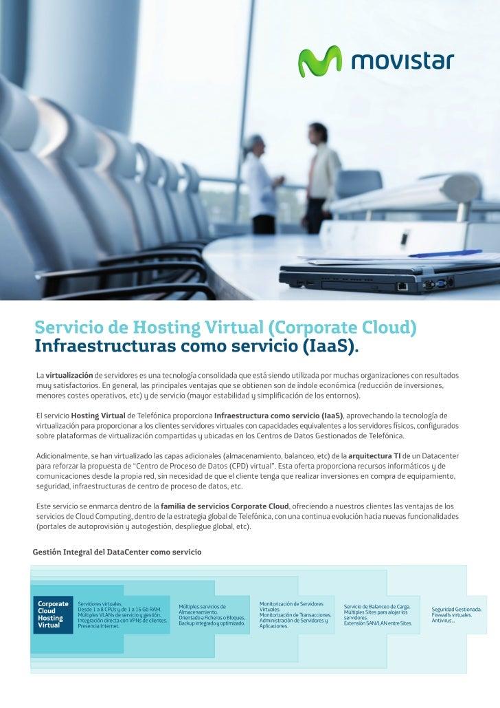 Servicio Hosting Virtual