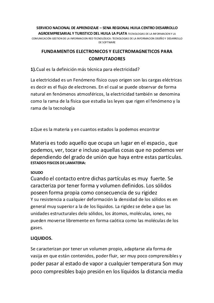SERVICIO NACIONAL DE APRENDIZAJE – SENA REGIONAL HUILA CENTRO DESARROLLO AGROEMPRESARIAL Y TURISTICO DEL HUILA LA PLATA TE...