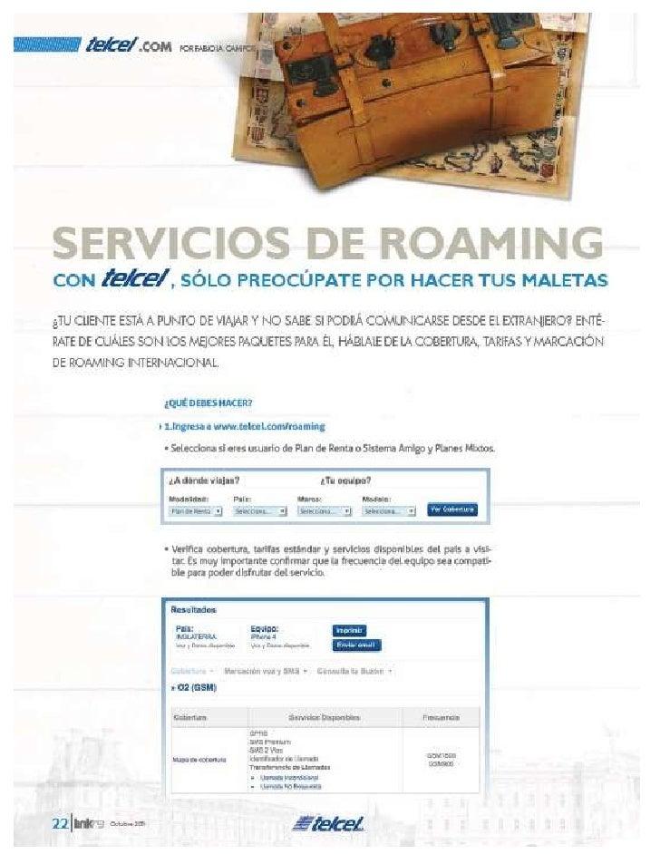 Servicios De Roaming