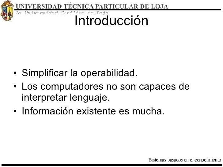 Servicios Web Semánticos Slide 2