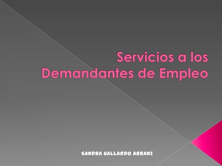 Sandra Gallardo Arranz