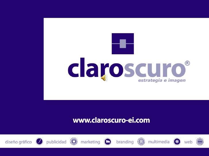 Soluciones Claroscuro