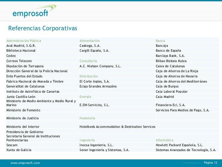 Servicios de consultor a 2011 for Oficinas de la caixa en bilbao