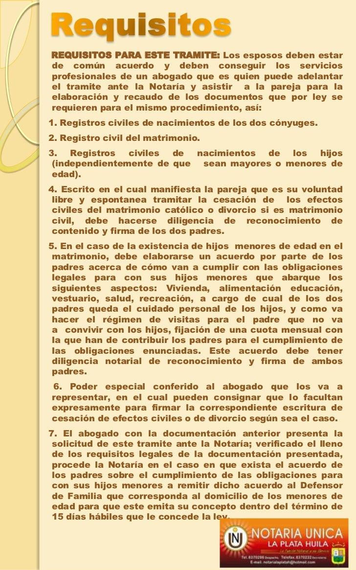 Registro Matrimonio Catolico Notaria : Servicios notaria la plata