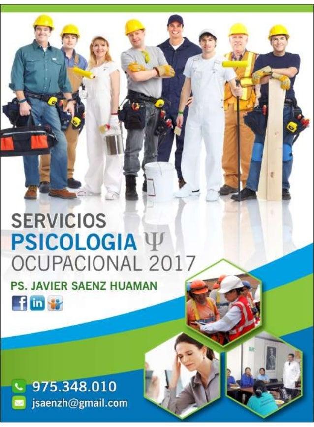 Servicios psicologia  ocupacional 2017