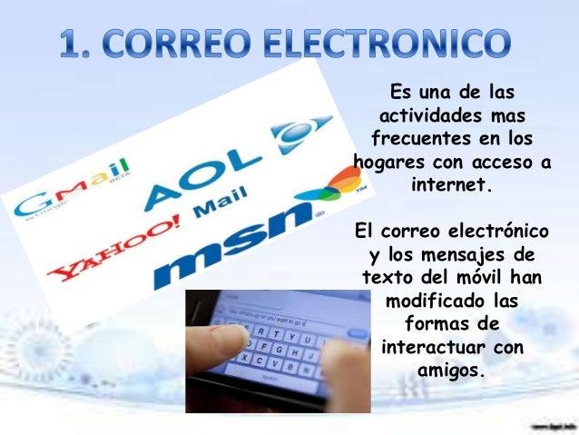 10 SERVICIOS DE LAS TICS Slide 2