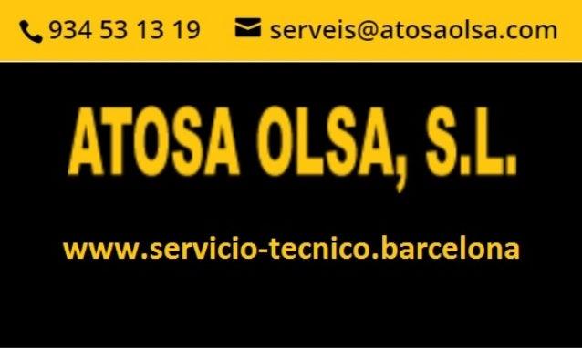 servicio tecnico electrodomesticos barcelona