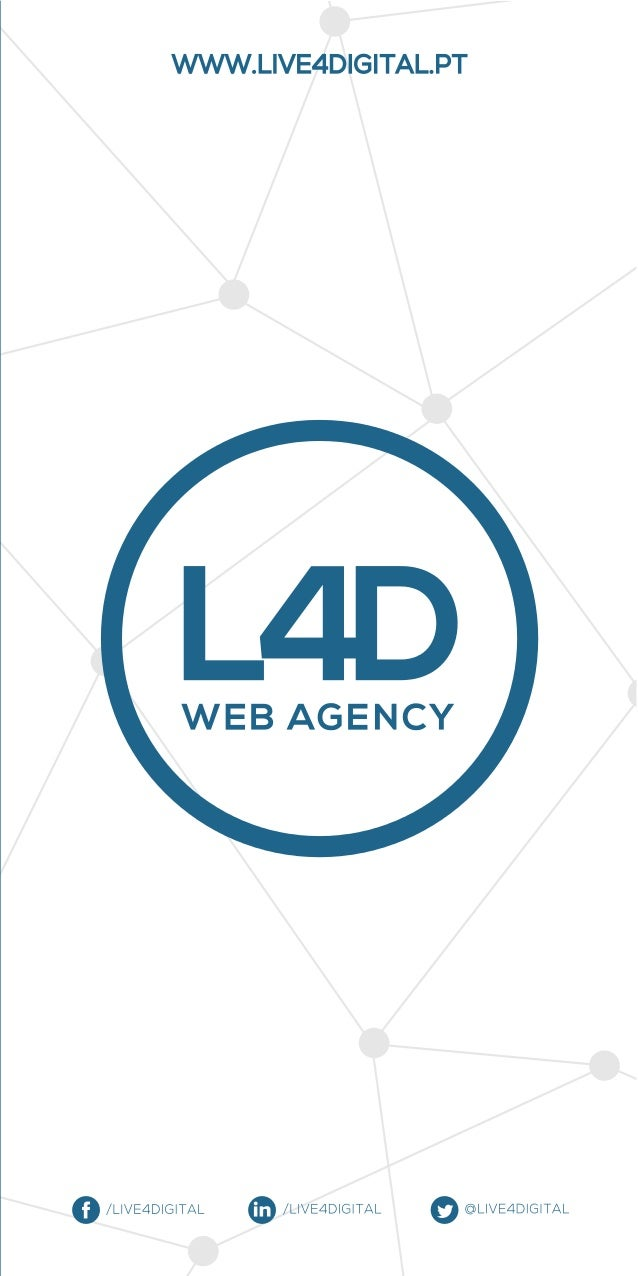 Flyer Realidade Aumentada Serviços de Marketing Digital da L4D Web Agency | Live 4 Digital