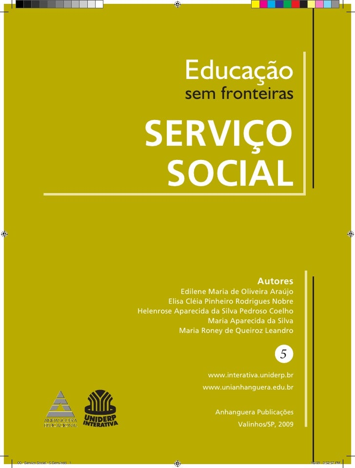 Educação                                                  sem fronteiras                                      SERVIÇO     ...