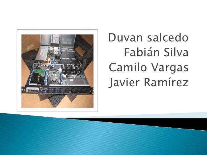 Duvan salcedo   Fabián SilvaCamilo VargasJavier Ramírez