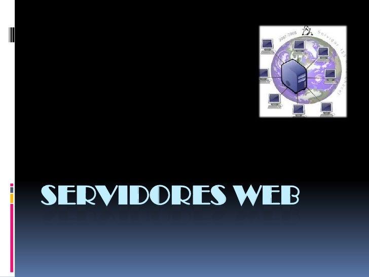 Servidores Web<br />