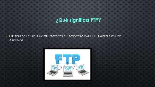 Servidor ftp Slide 2