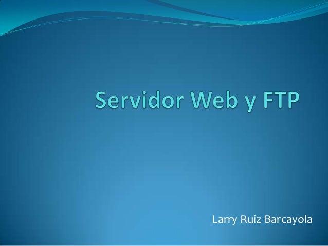 Larry Ruiz Barcayola