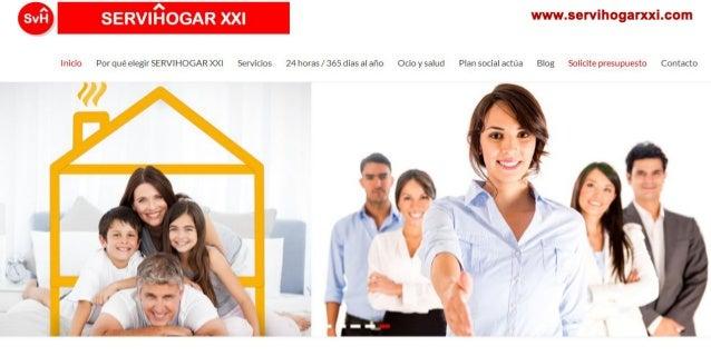 Cuidado a domicilio de personas mayores en Castellón. Servihogar XXI