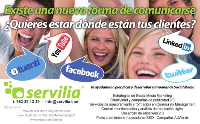 """t.  983 39 13 29 - info@servllla. com  4/  f':  ,l t.  J  ni'.     flzWï-Ïït'  i ¿' iI«'iií' It. :'I=  É-""""Ïïjiïïïlfiv .5' ..."""