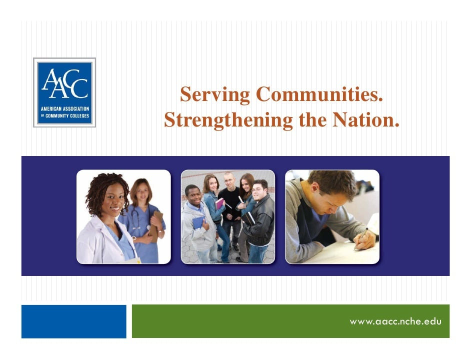 Serving Communities, Strengthening the Nation