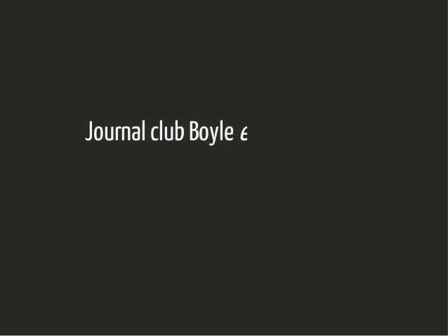 Journal club BoyleJournal club Boyle et alet al, Cell 2017, Cell 2017 Nathalie Vialaneix, INRA/MIATNathalie Vialaneix, INR...