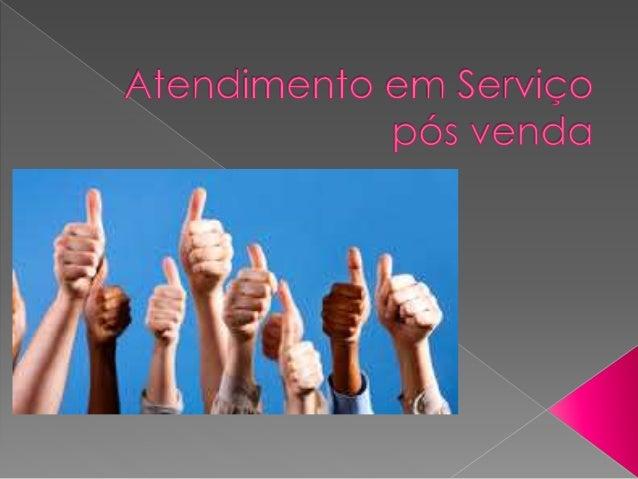  O Serviço Pós-Venda é um conjunto de actividades executadas após a venda do produto ou serviço e que visam manter o rela...