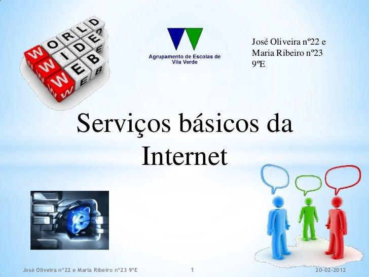 José Oliveira nº22 e                                                  Maria Ribeiro nº23                                  ...