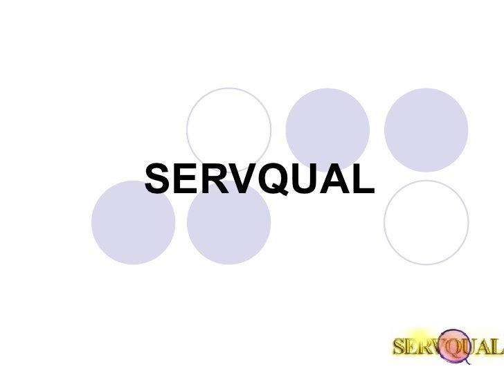 SERVQUAL