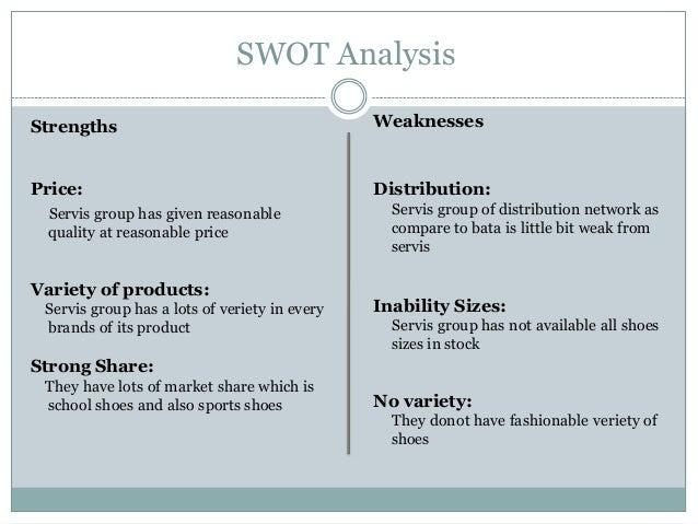 Bata SWOT Analysis, Competitors & USP