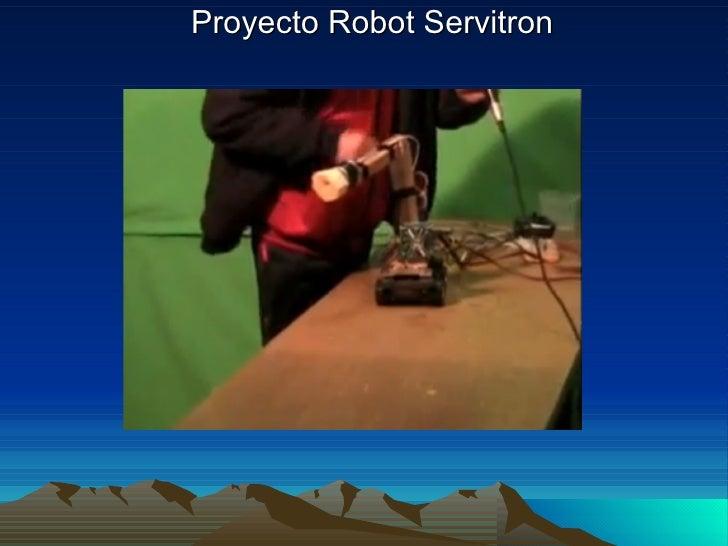 Proyecto Robot Servitron