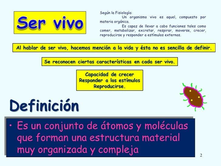 Ser vivo y niveles de organizaci n for Organizacion de un vivero