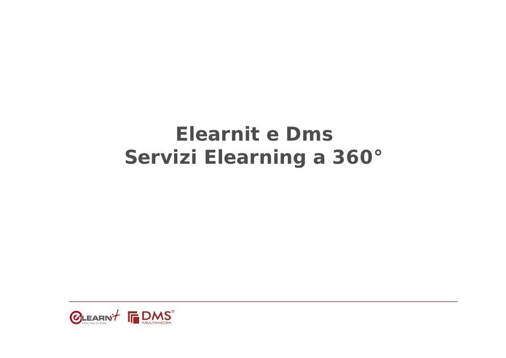 Elearnit e Dms Servizi Elearning a 360°