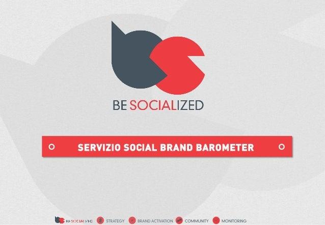 SERVIZIO SOCIAL BRAND BAROMETER