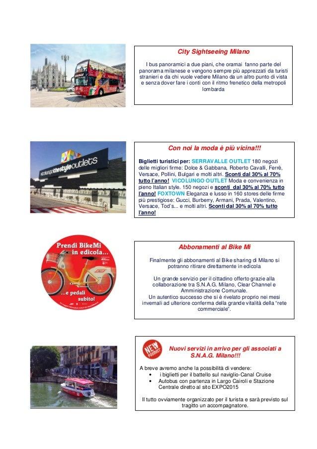 City Sightseeing Milano I bus panoramici a due piani, che oramai fanno parte del panorama milanese e vengono sempre più ap...