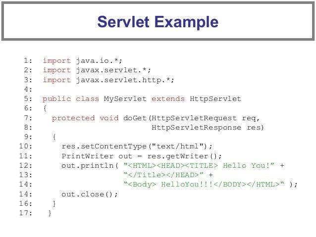 Servlet tutorial: session tracking.