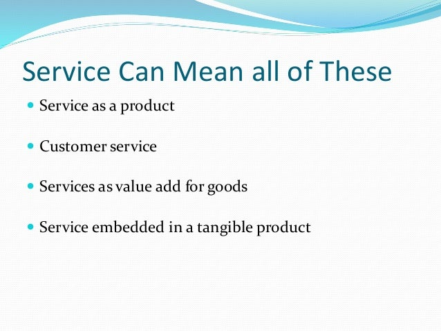"marketing for services simultaneous production and consumption The american marketing association defines services as - ""activities, benefits  and  inseparability/simultaneity of production and consumption: this refers to  the fact that  production, distribution and consumption are simultaneous  processes."