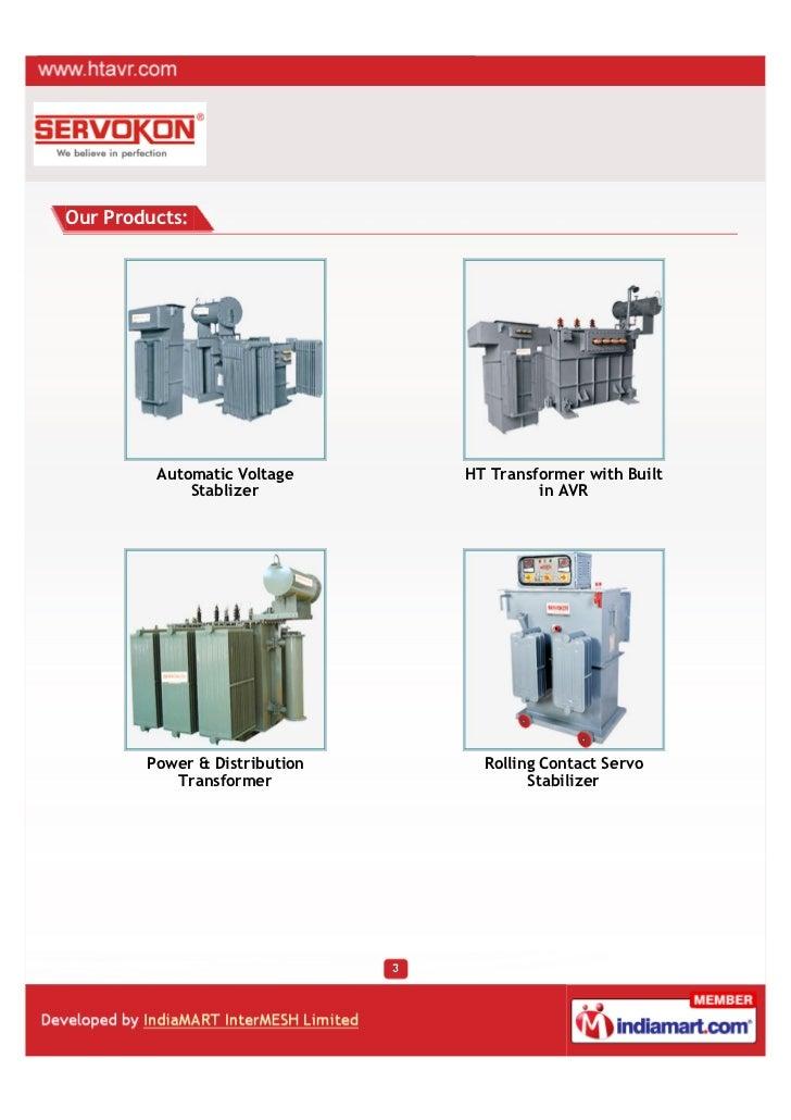 Servokon Systems Ltd., New Delhi, Power Conditioning Products Slide 3