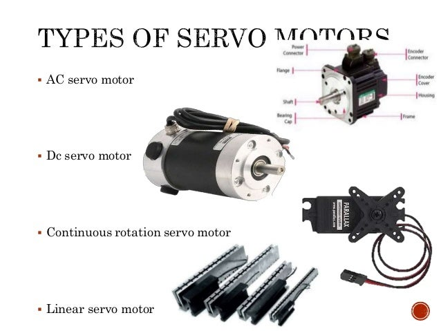 Servo motor and servo drive for How to control servo motor
