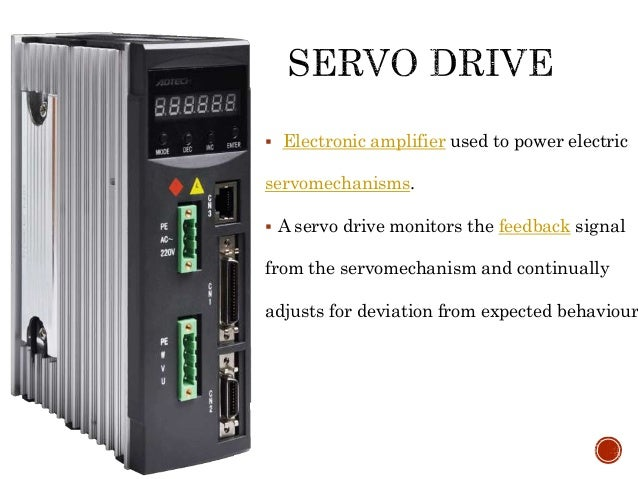 Servo motor and servo drive for Servo motors and drives