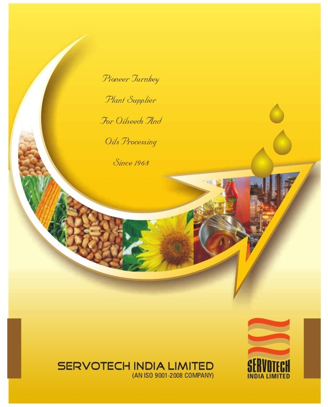Pioneer Turnkey Plant SupplierFor Oilseeds And Oils Processing   Since 1968        (AN ISO 9001-2008 COMPANY)