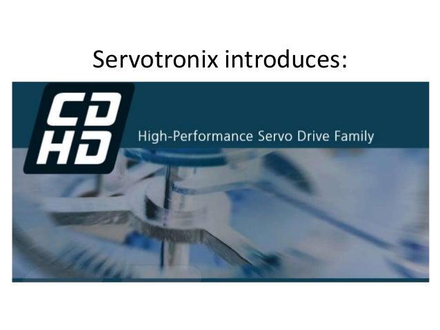 Servotronix introduces: