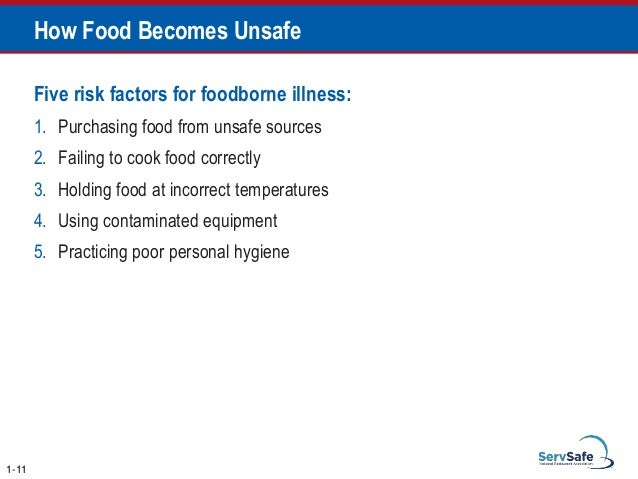 Which Storage Method May Cause Tcs Food To Become Unsafe Gorgeous Servsafe Comprehensive Pptfull