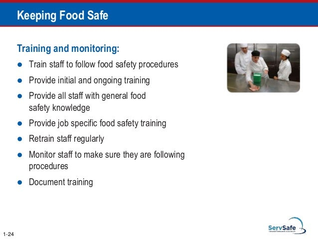 The Following Can Prevent The Deliberate Contamination Of Food