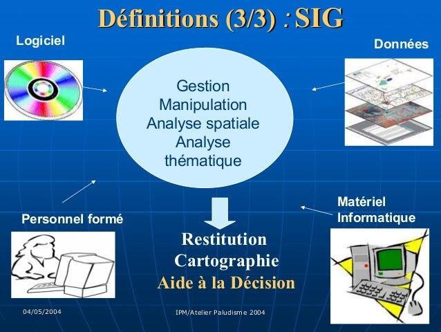 Télédétection et Systèmes d'Information Géographique (SIG