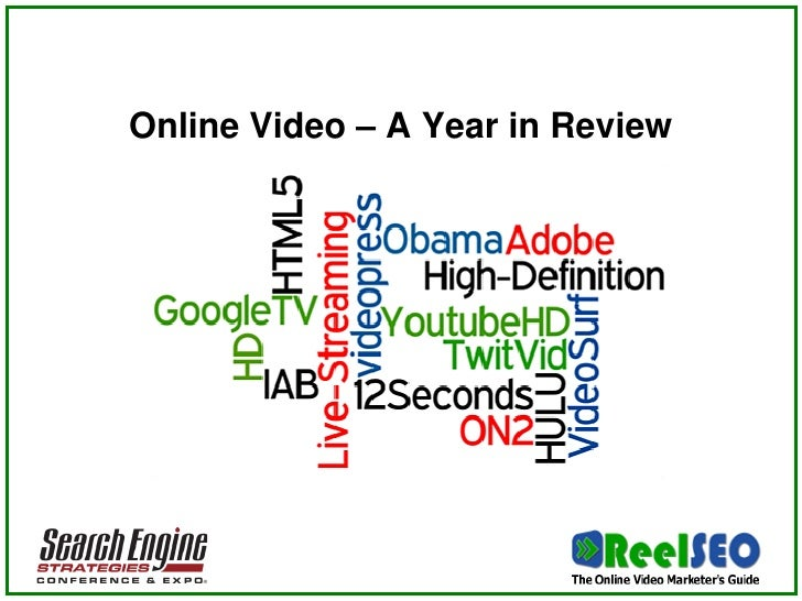 Online Video – A Year in Review