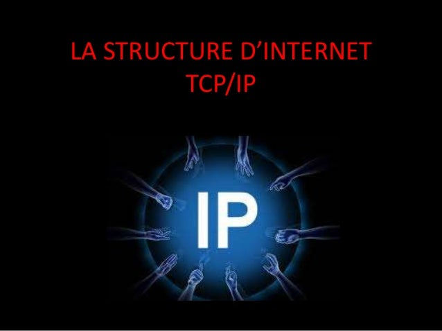 LA STRUCTURE D'INTERNET         TCP/IP