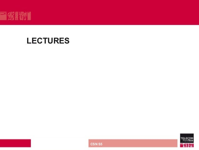 LECTURES direction ou services   CSN S5