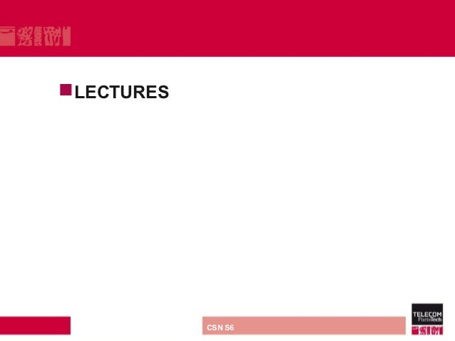LECTURES direction ou services   CSN S6
