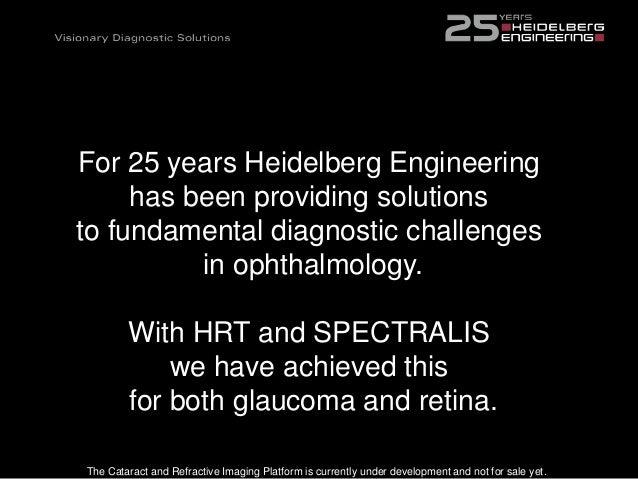 DIAGNOSTICS-IMPACT ON THE PREMIUM CHANNEL - Heidelberg Engineering