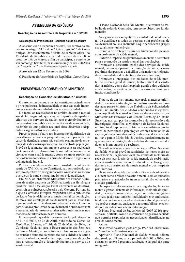 Diário da República, 1.ª série — N.º 47 — 6 de Março de 2008                                                       1395   ...